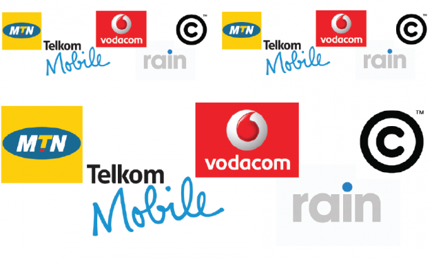 APN settings for Vodacom, MTN, Telkom Mobile, Cell C